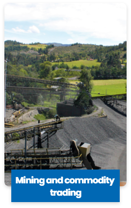 Mining and commodity  trading